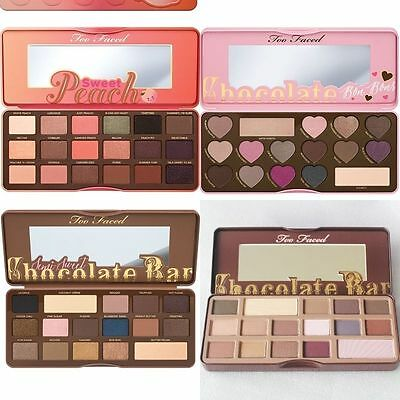 Too Faced Chocolate Bar/Semi Sweet/BON BONS Eyeshadow Collection Palette Set New