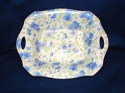 Lord Nelson Pansy Chintz Handled Bowl Dish