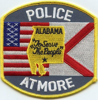 ATMORE ALABAMA AL To Serve The People POLICE PATCH