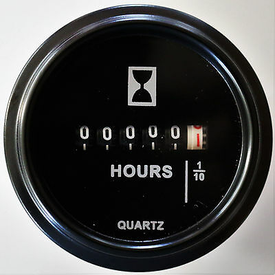 brand new 3 Screw Hour Meter Ops from 10-80Volt hourmeter,3 holes