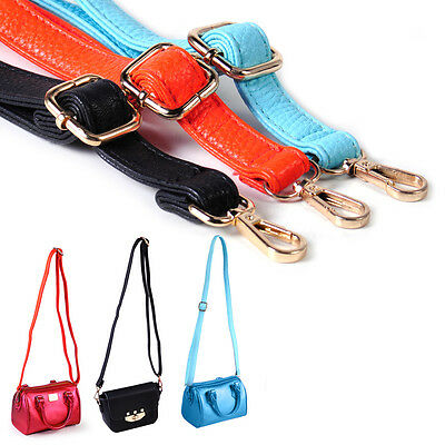 Leather Shoulder Strap Belt Replacement Crossbody Handbag Handle Purse Bag