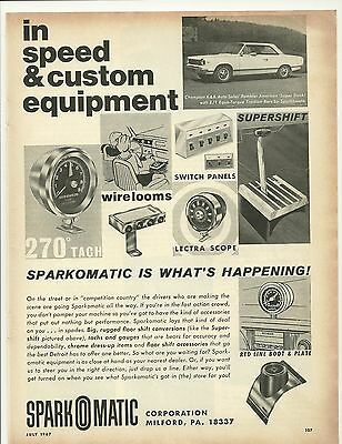 Rambler American Sparkomatic Speed & Custom Equipment Ad