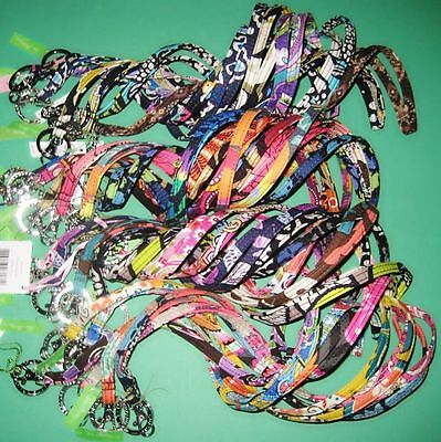 ** New With Tags ** Vera Bradley Lanyard Clip & Key Ring - Multi Color Available