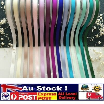 25 Yards High Quality Double Sided/faced Satin Ribbon(10mm)