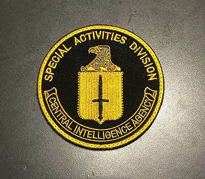 Central Intelligence Agency  SAD patch CIA in Syria