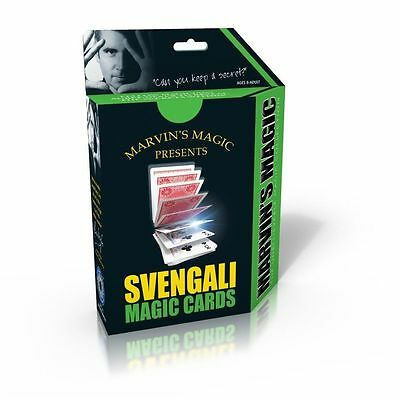 Marvin's Magic Svengali Cards - Perfect for Young Magicians Learning Card Tricks
