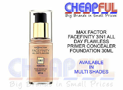 *Max Factor Facefinity 3in1 All Day Flawless Primer Concealer Foundation