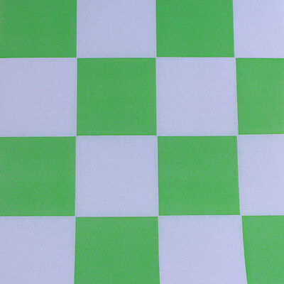 Printed Tissue Paper - Checkerboard Lime Pattern - 240 Sheets