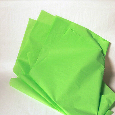 Mid-Green Tissue Paper - High Quality - 480 Sheets!!!