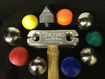 ALUMINUM HAND HAMMERS WITH UHMW HEADS by HoosierProfiles Inc