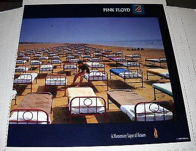 Pink Floyd-A Momentary Lapse Of Reason, 12x12 Promo Album Poster, 2 Sided, NEW