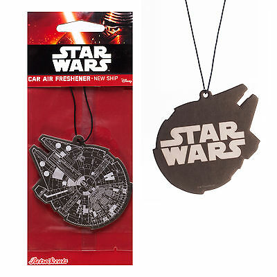 Star Wars Disney Car Home Air Freshener Freshner Scent - MILLENNIUM FALCON SHIP