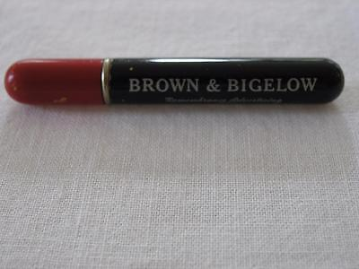 Vintage Cigarette Lighter/pen Shaped Advertising Brown And Bigelow/st. Paul, Min