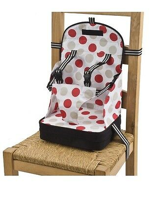 Baby Polar Gear 5 Point Harness Travel Portable Booster Highchair Seat Bag Chair