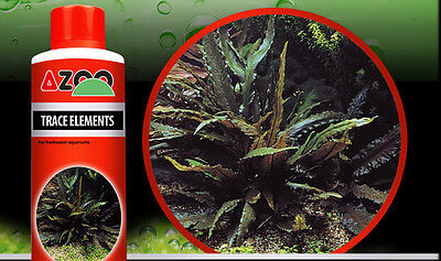 AZOO TRACE ELEMENTS*For aquatic plants, reef aquariums and ponds *120,250,500ml