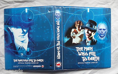 David Bowie the man who fell to earth ultra rare official binder