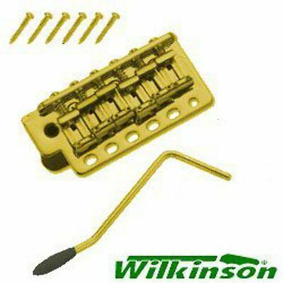 New Guitar Parts Gold Wilkinson WV6 Tremolo