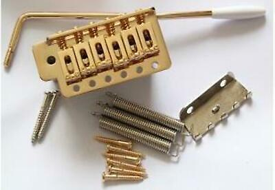 New Guitar Parts Strat style Tremolo - Gold