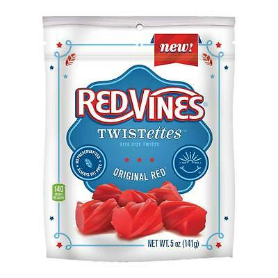 Red Vines Original Red Twistettes, 5 Ounce -- 12 per case.