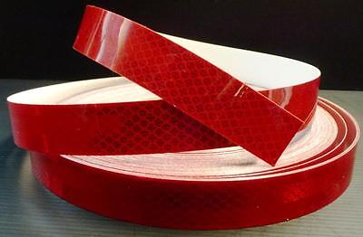 3M™   RED  REFLECTIVE TAPE 3932 CLASS 1  25MM x 1 ROLL 45.7METRE NEW