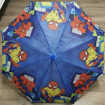 Marvel Spiderman Boys Kids Umbrella Kids Gift with Whistle