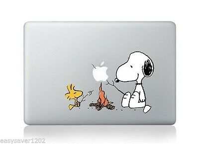 "New Snoopy Apple Macbook Pro Retina 15"" Vinyl Sticker Skin Decal Cover For Mac"