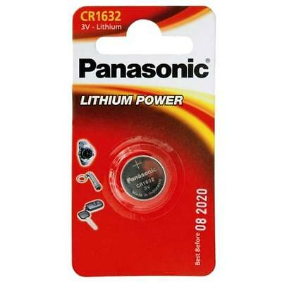 Pile bouton Panasonic CR1632 3V au lithium Button Cell Knopfzelle