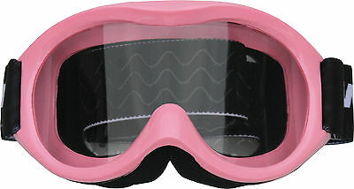 Kids/Youth Goggles - Motocross, dirt bike, PINK, quad, ATV, MX, non slip helmet