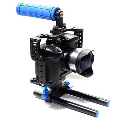 DSLR Kamera Cage With Top Handle Grip For Kamera Rig Panasonic Lumix GH3 GH4