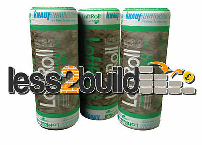 Earthwool 44 Loft Insulation 100mm-150mm-200mm, Buy 1 or 100 only £9.50 Carriage