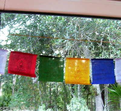 Large Tibetan Prayer Flags Medicine Buddha