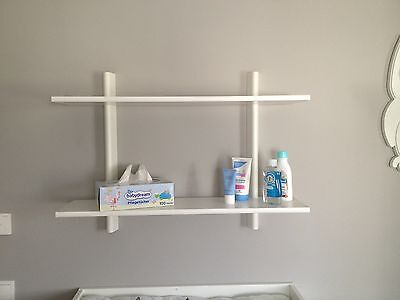 Changing shelf, white - suitable for our changing table tops