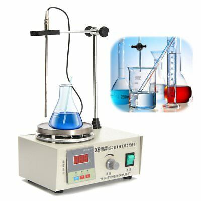 Magnetic Stirrer With Hotplate Digital Mixer Heating Plate Control 220/110V New
