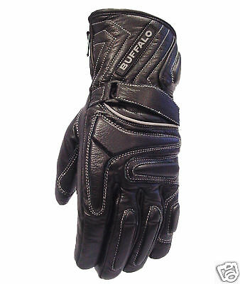 Buffalo Arctic Winter Waterproof Motorcycle Motorbike Scooter Gloves Medium