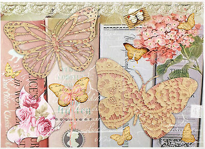 Rice Paper for Decoupage Decopatch Scrapbook Craft Sheet Shabby Chick Dance