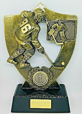 Ice Hockey Trophy + FREE Engraving + FREE P&P On Additional Trophies