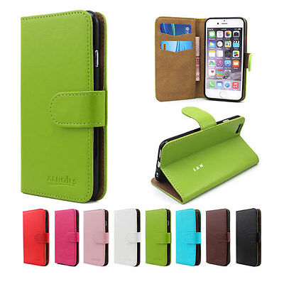 Wallet Leather Flip Magnetic Case Cover For Apple iPhone 6 & 6S