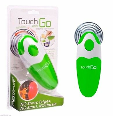 Touch And Go Auto Safety Can Opener Green  Free Postage Superfast Delivery!!