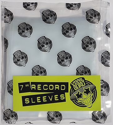 """Pack of 100 x 7"""" inch Vinyl Record Single 400 Gauge Polythene Sleeves Covers"""