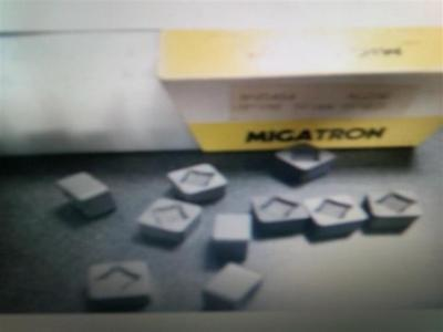 10 New Migatron SNG454X ceramic cutting tool inserts indexable carbide SNG 454X
