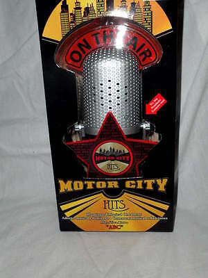 "New Illuminated ""on The Air"" Musical Microphone Motor City Hits Abc Jackson 5"