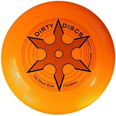 Ultimate Frisbee - Orange - Flying Disc - Perfect Weight, 175g - Park Toy
