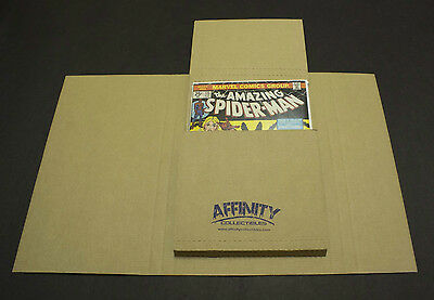25 GEMINI Comic Book Flash Mailers - (Fits most Comic and Graphic Novel sizes)