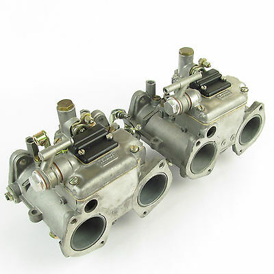 Pair Of Dellorto Dhla 40H Twin Carbs/carburettors (Reconditioned)