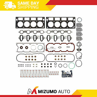 Head Gasket Bolts Set Fit 04-08 Cadillac Chevrolet GMC Buick 4.8 & 5.3 OHV