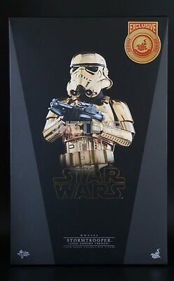 Hot Toys 1/6 Star Wars Stormtrooper Gold Chrome Version MMS364
