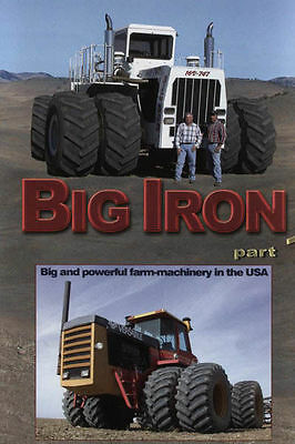 Big Iron Part 1 Big and powerful farm-machinery in the USA, DVD