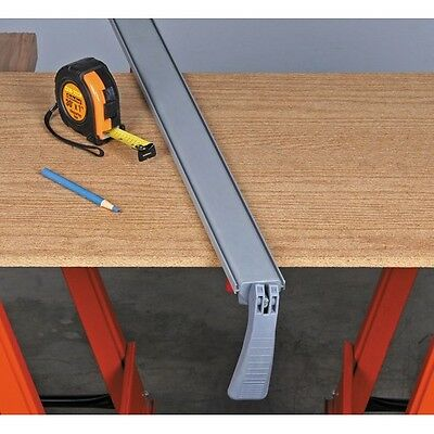 "50"" Durable Clamp And Cut Edge Guide Woodworking Clamp Saw Cutting Guide"