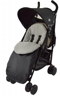 Footmuff Compatible with Liner Buggy Pram Stroller Grey