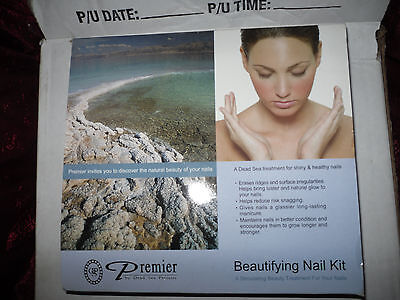 Premier Beautifying Nail Kit Dead Sea Herbal Price Reduced